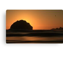 Face Rock Canvas Print