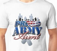 Proud Army Aunt Unisex T-Shirt