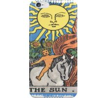 The Sun Tarot Card iPhone Case/Skin
