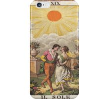Il Sole Sun Tarot Card iPhone Case/Skin