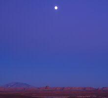 Lake Powell Full Moon by Wilson Wyatt  Photography