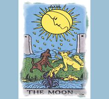 The Moon Tarot Card Blue Unisex T-Shirt