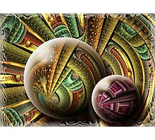 Technological Orbits Photographic Print