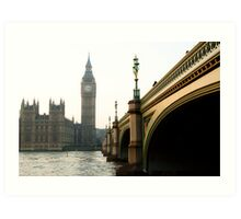 thames time Art Print