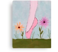 A Ballet in Flowers Canvas Print
