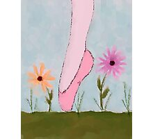 A Ballet in Flowers Photographic Print
