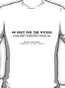 Holman Iron Black T-Shirt