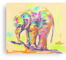 Wildlife baby elephant Metal Print