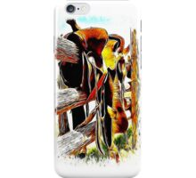 Riding The Fence iPhone Case/Skin