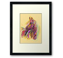 Horse True colours Framed Print