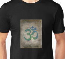 Om Ohm Yoga Namaste Symbol -Green Blue Black  Unisex T-Shirt