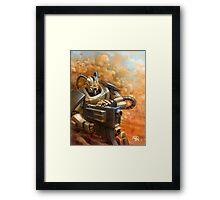 Heavy Artillery Framed Print