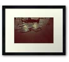 Melodic Blues Framed Print