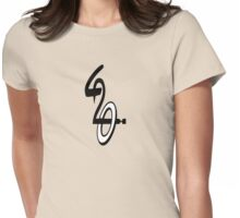 TRIBAL 420 Womens Fitted T-Shirt