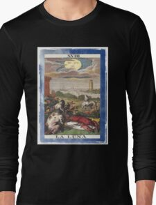 La Luna Blue Moon Tarot Card Long Sleeve T-Shirt
