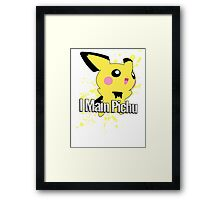 I Main Pichu - Super Smash Bros. Melee Framed Print