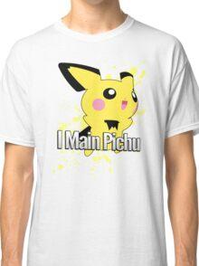I Main Pichu - Super Smash Bros. Melee Classic T-Shirt