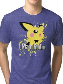 I Main Pichu - Super Smash Bros. Melee Tri-blend T-Shirt