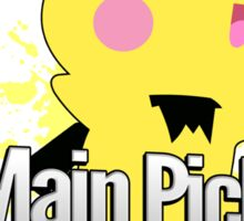 I Main Pichu - Super Smash Bros. Melee Sticker