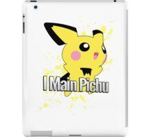 I Main Pichu - Super Smash Bros. Melee iPad Case/Skin
