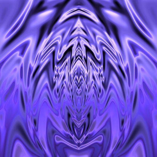 Blue Silk 2000 by Hugh Fathers