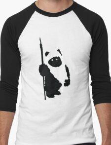 Ewok Silhouette Men's Baseball ¾ T-Shirt