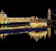 Celebration of Guru Nanak's Birthday at Golden Temple by RajeevKashyap