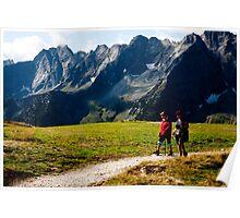 Alpen Footpath Poster