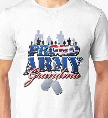 Proud Army Grandma Unisex T-Shirt