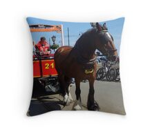 Ready to go? Throw Pillow