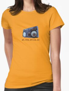 At The Drive-In Womens Fitted T-Shirt