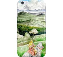 He wearied of the Chase ... iPhone Case/Skin