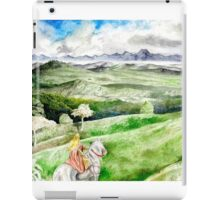 He wearied of the Chase ... iPad Case/Skin