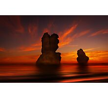 Time Lords - Gibson Steps Port Campbell N.P. Photographic Print