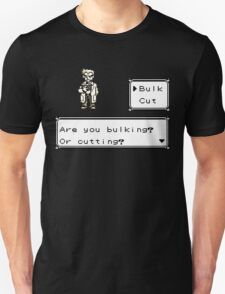 Professor Oak Pokemon. Are you bulking or cutting? Bulk edition T-Shirt