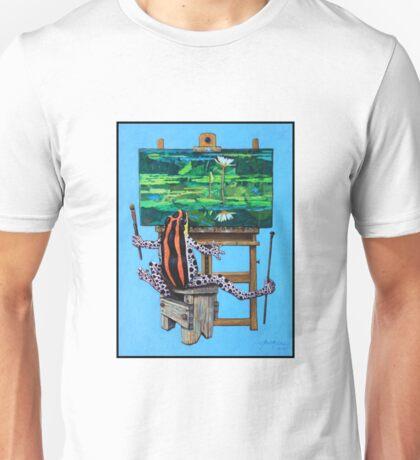 Frog In Studio Unisex T-Shirt