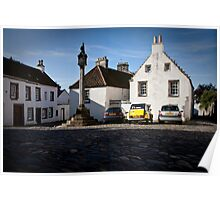 Culross Mercat Cross Poster