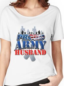 Proud Army Husband Women's Relaxed Fit T-Shirt