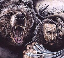Beorn In Battle by Peter Xavier Price