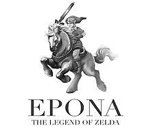 Epona Polo Photographic Print