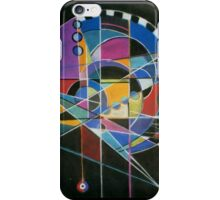 Fairground abstract iPhone Case/Skin