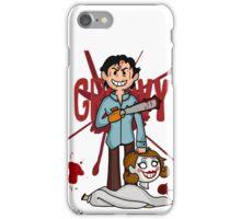 """Groovy"" - Evil Dead print iPhone Case/Skin"