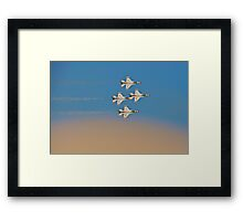 Above The Dust Framed Print