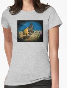 Dive in with the ancient Pokemon, Relicanth! Womens Fitted T-Shirt