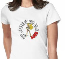 Alter Ego: SuperChick Womens Fitted T-Shirt