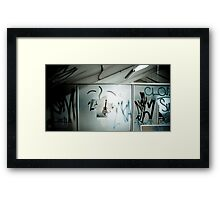 When I Walk in Darkness, You Are My Light Framed Print