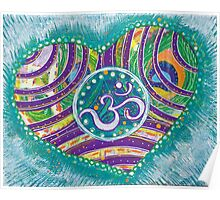 Prosperity in Lighthearted Joy: Inner Power Painting Poster