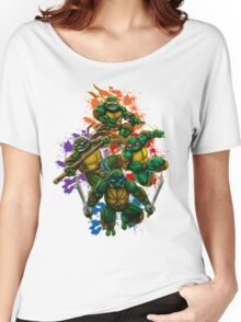 Teenage Mutant Ninja Turtles Women's Relaxed Fit T-Shirt