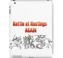 Battle at Hastings Again ANNUAL RE-ENACTMENT OF 1066 iPad Case/Skin