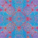 Iridium Atoms Blue Orange by atomicshop